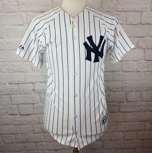 Derek Jeter New York Yankees #2 Baseball Jersey